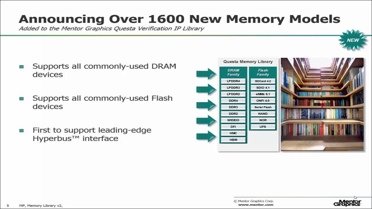One Stop Verification IP Memory Library Session | Subject Matter Expert - Adam Rose | Verification Academy Technology Seminar