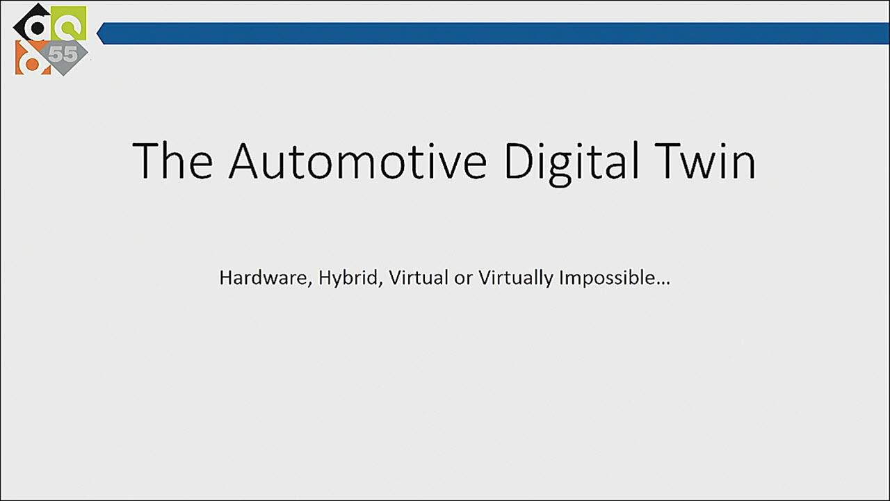 DAC 2018 | The Automotive Digital Twin – Virtual or Virtually Impossible