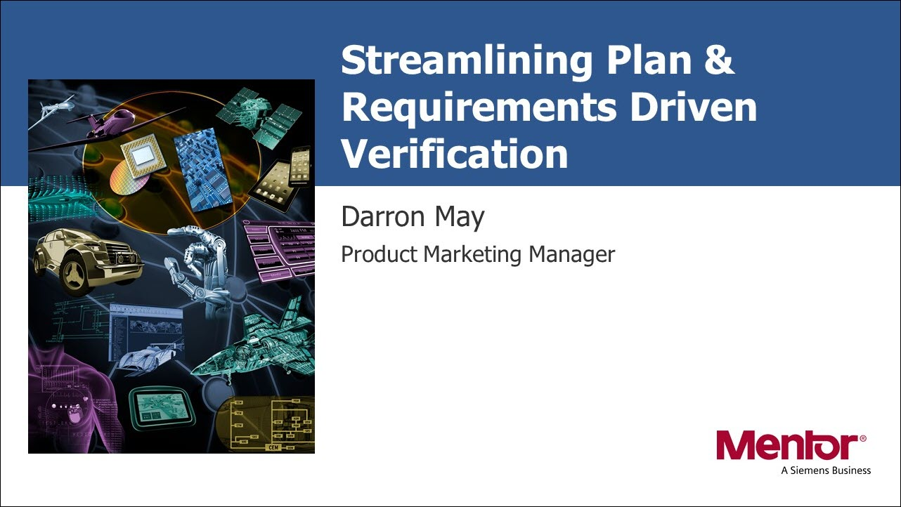 DAC 2019 | Streamlining Plan & Requirements Driven Verification