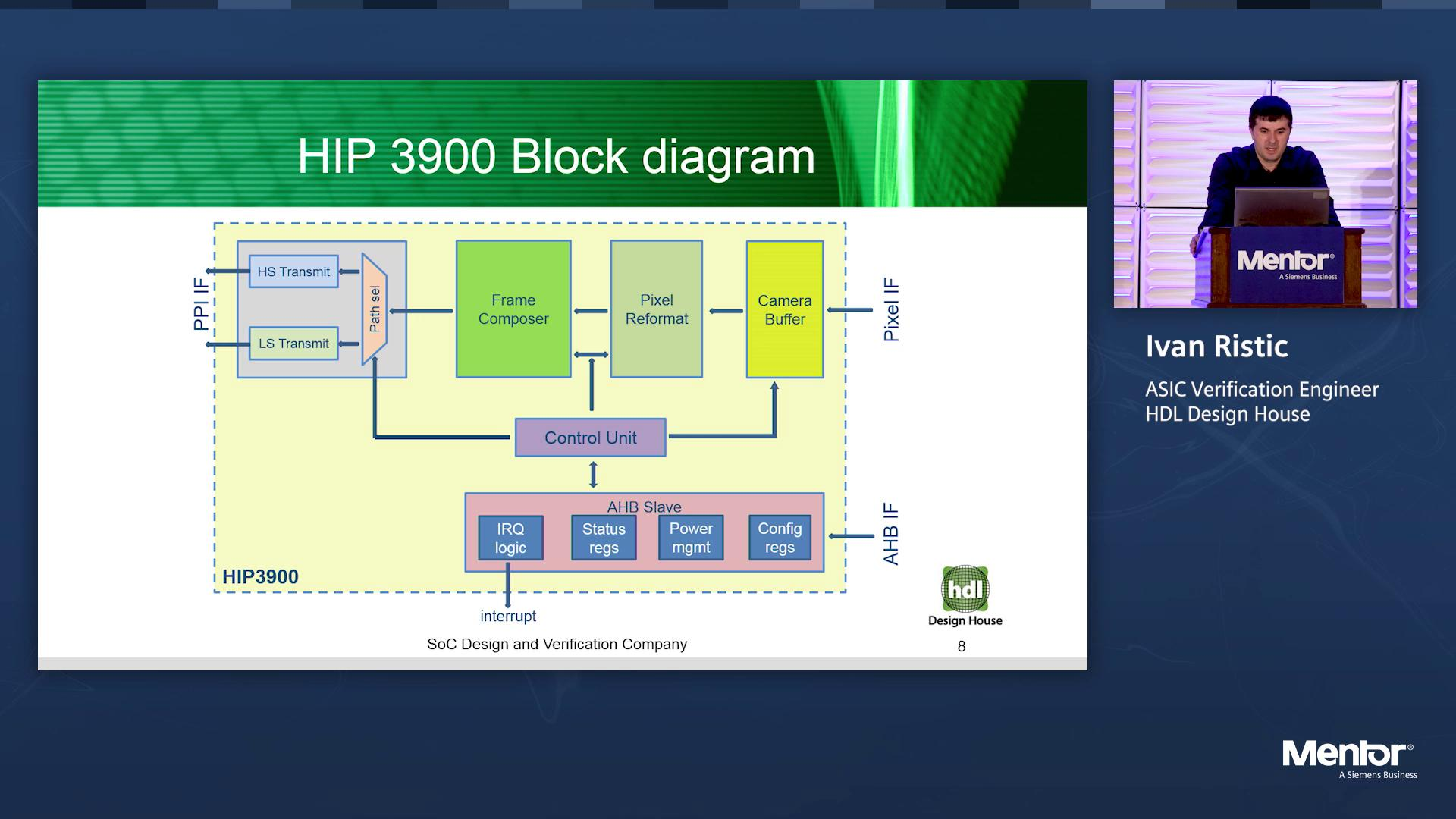 MIPI® CSI-2 TX Verification | Silicon Valley Design & Verification IP Forum | Ivan Ristic