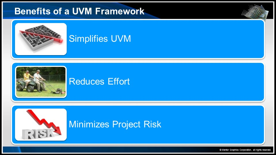 Productive Verification with VIP, a UVM Framework and Configuration GUI Session | Enterprise Debug & Analysis Seminar