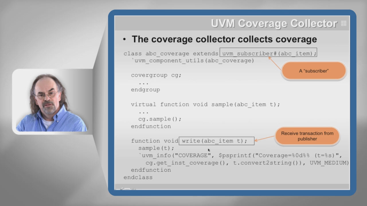 Functional Coverage Session | Subject Matter Expert - Rich Edelman | UVM Express Course