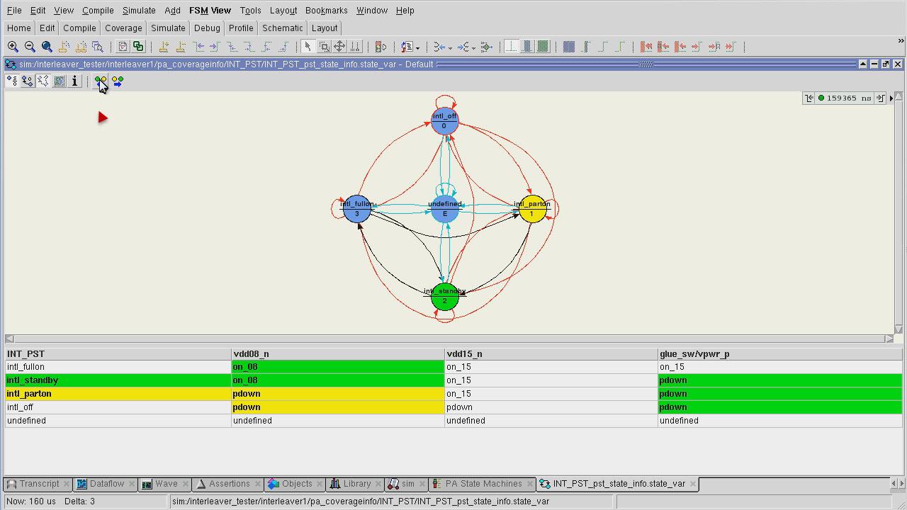 Questa Power Aware Simulation Demo Session   Subject Matter Expert - Chuck Seeley
