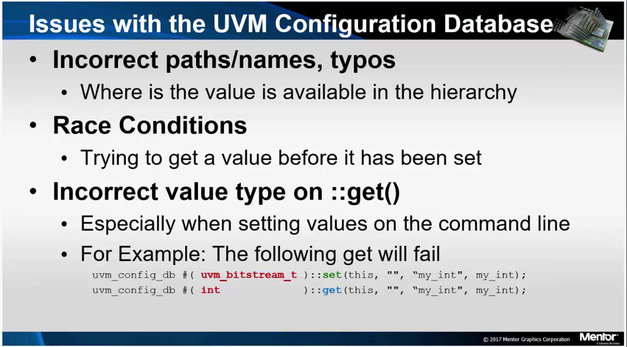UVM Configuration Database Debug Session | Subject Matter Expert - Tom Kiley | UVM Debug Course
