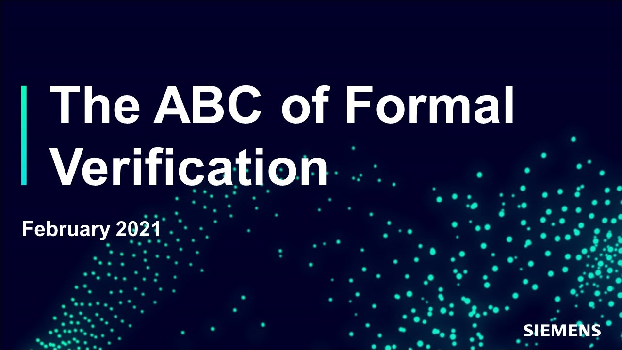 The ABC of Formal Verification Session | Dr. Ashish Darbari - Axiomise