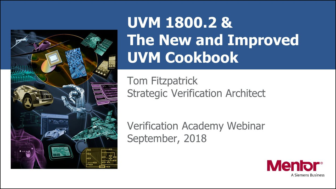 UVM 1800.2 & The New and Improved UVM Cookbook Web Seminar | Tom Fitzpatrick
