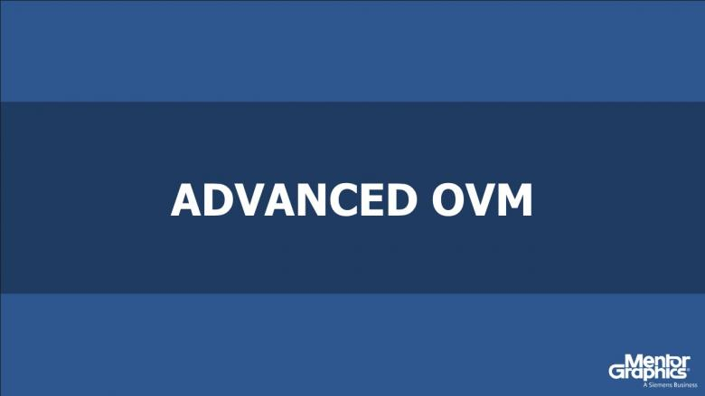 Advanced OVM Course | Subject Matter Expert - Tom Fitzpatrick | Open Verification Methodology Topic
