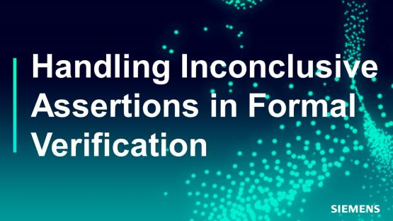 Subject Matter Expert - Jin Hou | Handling Inconclusive Assertions in Formal Verification Course
