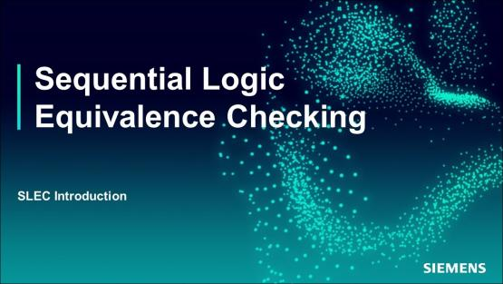 SLEC Introduction Session | Subject Matter Expert - Jin Hou | Sequential Logic Equivalence Checking Course