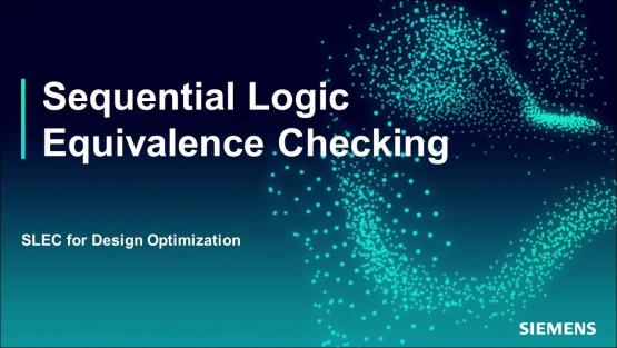 SLEC for Design Optimization Session | Subject Matter Expert - Jin Hou | Sequential Logic Equivalence Checking Course