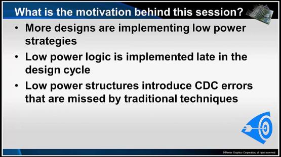 Introduction and Overview Session | Subject Matter Expert - Kurt Takara | Power Aware CDC Verification Course