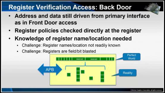 Memory Mapped Register Verification Session | Subject Matter Expert - Mark Eslinger | Formal-Based Technology: Automatic Formal Solutions Course