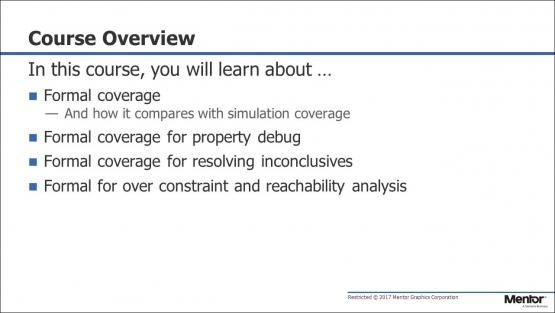 Course Introduction & Overview Session | Subject Matter Expert - Mark Eslinger | Formal Coverage Course