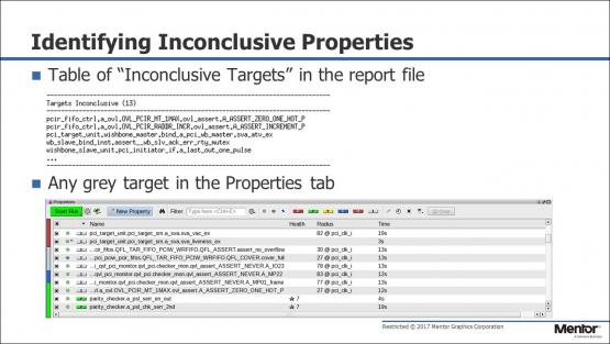 Formal Coverage for Inconclusive Debug Session | Subject Matter Expert - Mark Eslinger | Formal Coverage Course