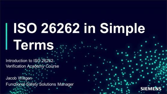 ISO 26262 in Simple Terms Session | Subject Matter Expert - Jacob Wiltgen | ISO 26262 in Simple Terms Course
