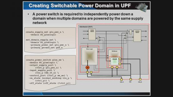 A Simple UPF Example Session | Subject Matter Expert - Erich Marshner | Power Aware Verification Course