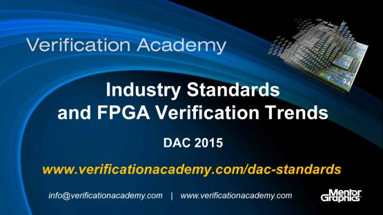 DAC 2015 | Standards & FPGA Tuesday | Industry Standards