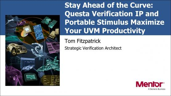 DAC 2019 | Questa Verification IP and Portable Stimulus Maximize Your UVM Productivity