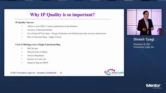 Conquering the New IP Economy | Silicon Valley Design & Verification IP Forum | Dinesh Tyagi
