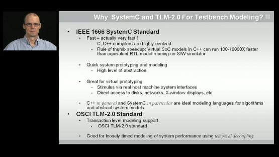 SystemC & TLM-2.0 Testbench Modeling Session | Subject Matter Expert - John Stickley | Acceleration of SystemC & TLM 2.0 Testbenches with Co-Emulation