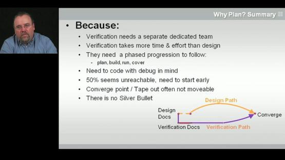 Why It's Hard? Session| Subject Matter Expert - Peet James | Verification Planning and Management Course