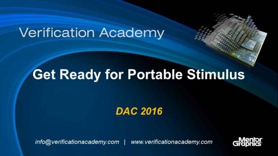 DAC 2016 | Get Ready for Portable Stimulus
