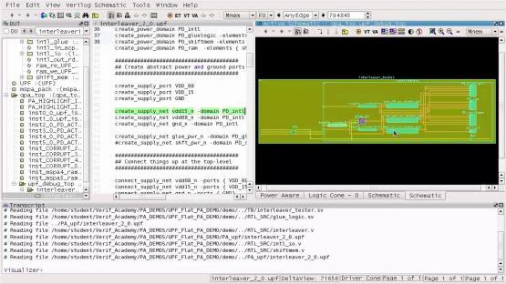 Questa Power Aware Visualizer Demo Session | Subject Matter Expert - Chuck Seeley