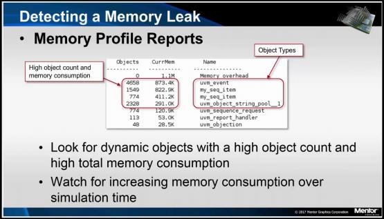 Memory Leak Debug Session | Subject Matter Expert - Tom Kiley | UVM Debug Course