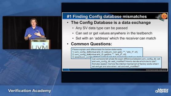 Improving UVM Testbench Debug Productivity and Visibility Session | Subject Matter Expert - Gordon Allan | UVM Forum Seminar
