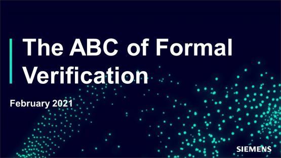 The ABC of Formal Verification Session | Dr. Ashish Darbari - Axiomise