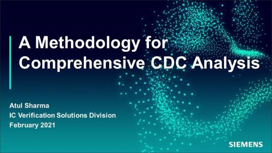 A Methodology for Comprehensive CDC Analysis | Subject Matter Expert - Atul Sharma | Academy Live Web Seminar