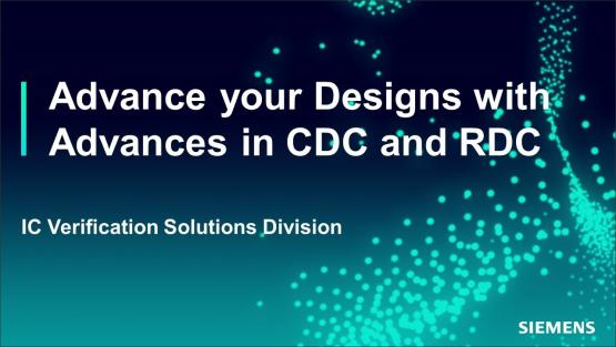 Advance your Designs with Advances in CDC and RDC | Subject Matter Expert - Kurt Takara | Academy Live Web Seminar