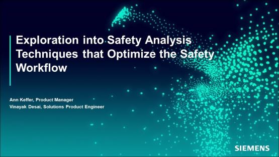 Exploration into Safety Analysis Techniques That Optimize the Safety Workflow | Subject Matter Expert - Ann Keffer | Siemens EDA 2021 Functional Verification Webinar Series