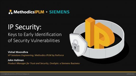IP Security: Keys to Early Identification of Security Vulnerabilities | John Hallman - Subject Matter Expert