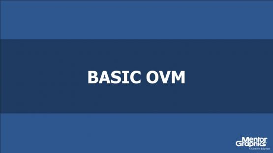 Basic OVM Course | Subject Matter Expert - John Aynsley | Open Verification Methodology Topic